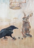 Blackbird and bunny (God does not play dice? (Einstein))