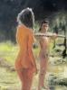 Woman, man and stick - Die Frau, der Mann und der Stab