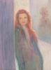 woman, smiling