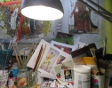 Studio + work processes